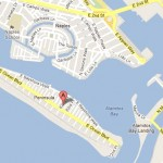 Map of Bayside Apartments for Rent in Belmont Shores, Long Beach, CA