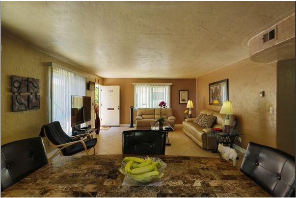Example of a Furnished Livingroom