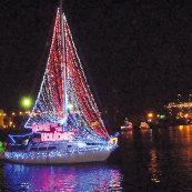 Holiday Boat Parade 1